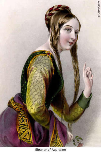 Eleanor of Aquitaine, 皇后乐队 of Henry II of England