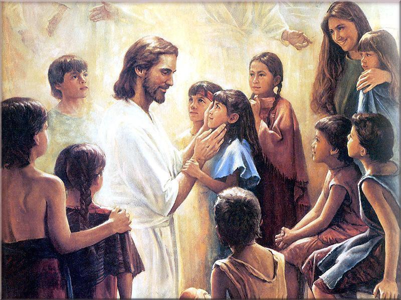 Jesus and Child - Jesus Wallpaper (7192856) - Fanpop