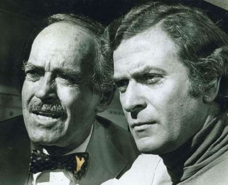 Michael Caine and Henry Fonda