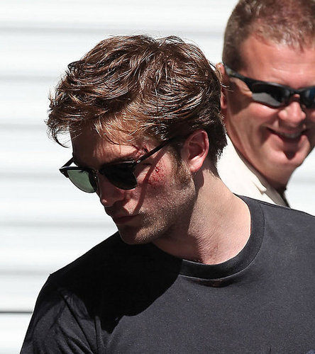 Rob and stunt double