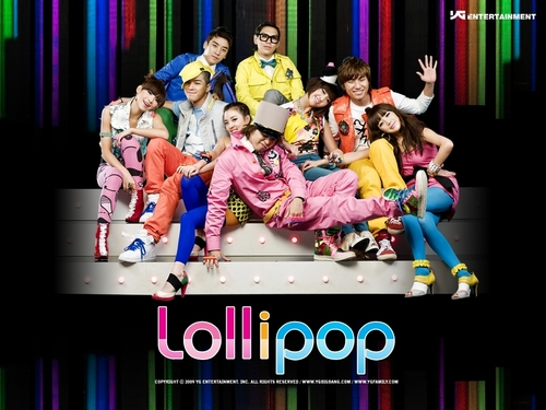 2NE1&Big Bang Lollipop Cf