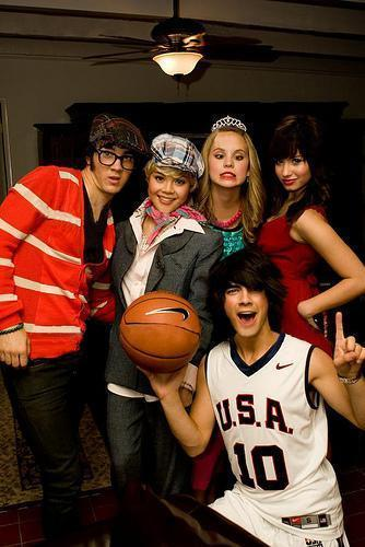 Camp rock cast Halloween