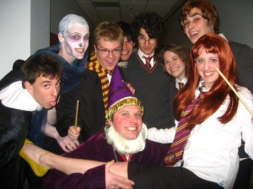 Cast of A Very Potter Musical