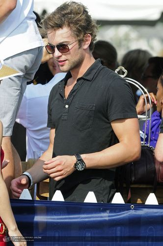 Chace Crawford - Birthday Party at Mercedes Benz VIP - July 18