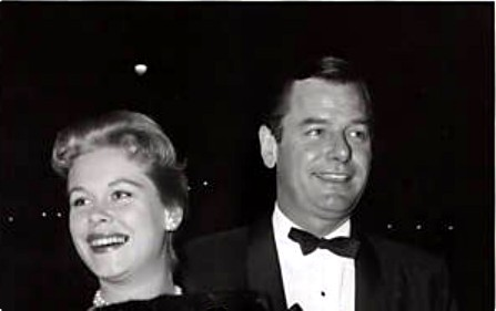 Elizabeth and husband Gig Young