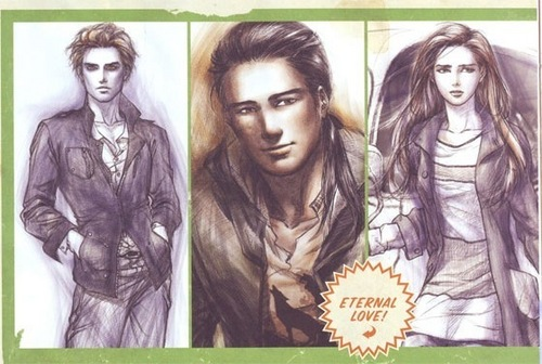 Bilder for Twilight Graphic Novel!