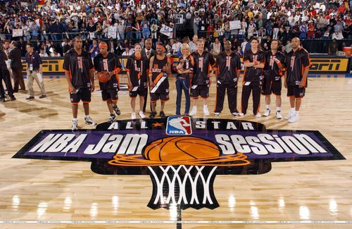 2004 NBA mứt Session Celebrity Game (Feb. 12. 2004) <3