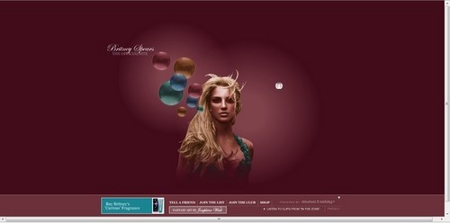 BritneySpears.Com Past Websites