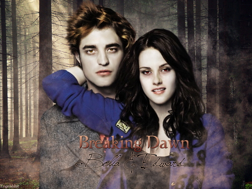 Edward and Bella Breaking Dawn