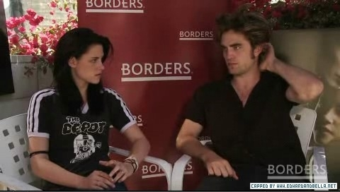Robsten in borders.com interview