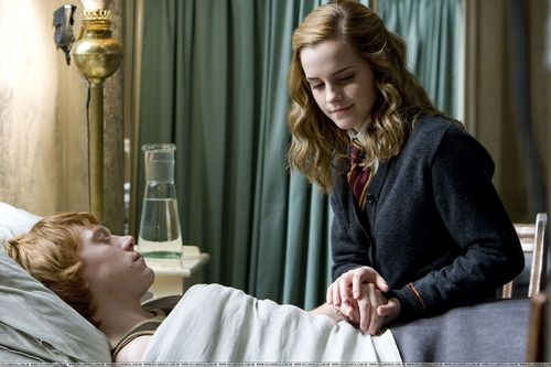 Ron&Hermione in HBP