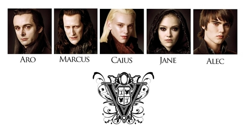 Volturi First Look! Pictures of 5 Members