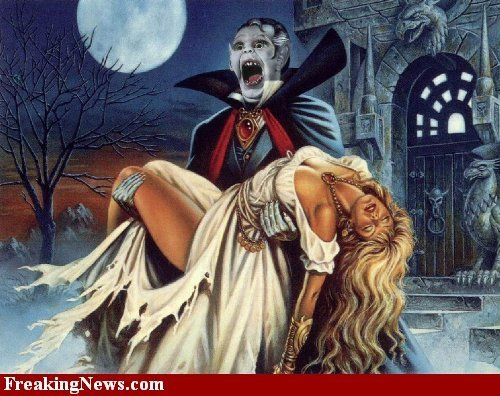 Artists' take on Dracula