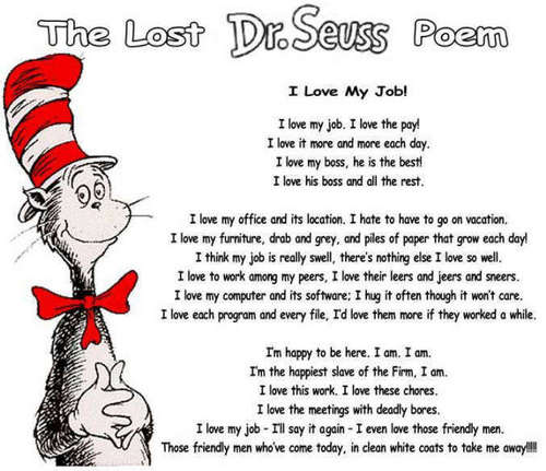 Lost Dr.Seuss Poem!