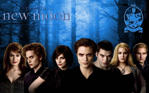 HD New Moon Wallpaper - The Cullens