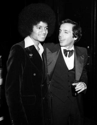 November 14, 1977: Michael at the premire party for The Turning Point