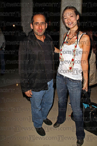Peter Jacobson and Olivia Wilde