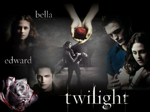 Twilight and New Moon kertas dinding