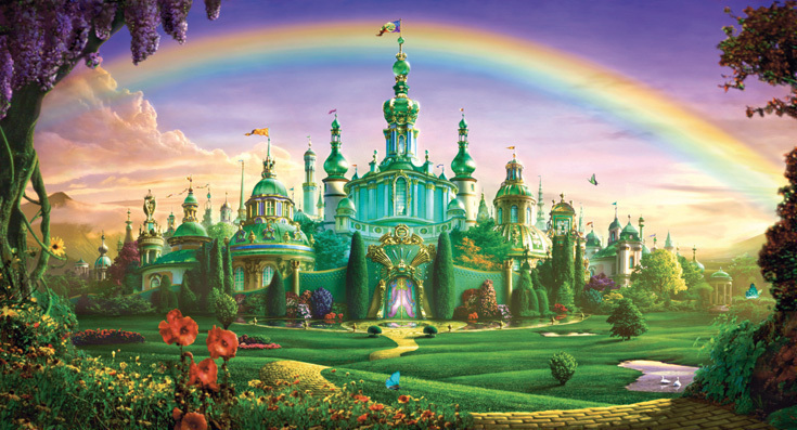 The Wizard Of Oz Images Emerald City Wallpaper And Background Photos