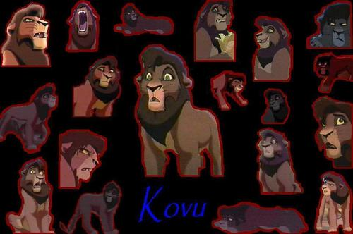 kovu all over