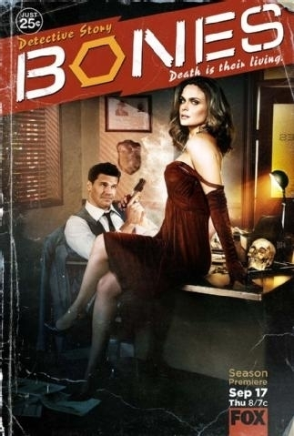 Booth and Brennan Official Promotional Posters For Season 5