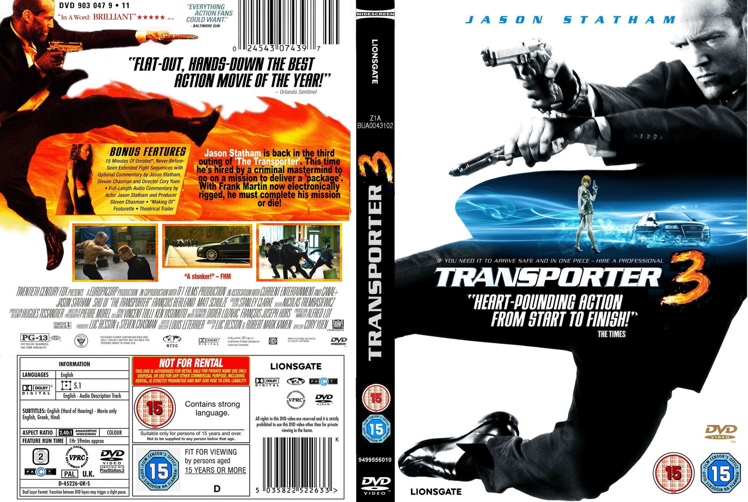 Jack Mallon Media Coursework: Analysis of posters and DVD