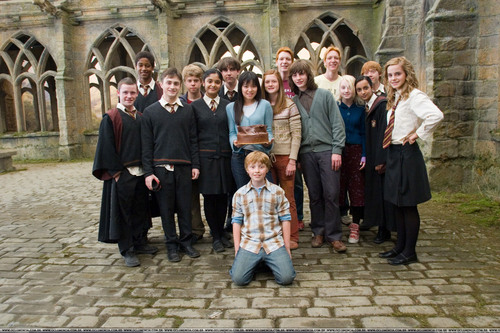 Harry Potter and the Order of the Phoenix > On Set