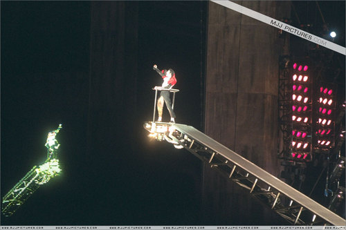 History Tour - on stage