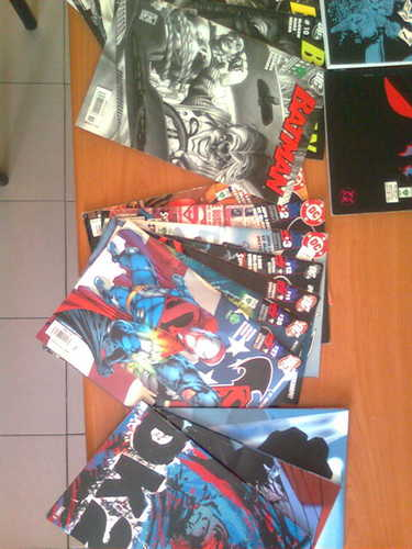 MoniBolis Batman comics and toy collection!!!