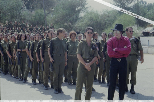 Various > Michael visits Israel