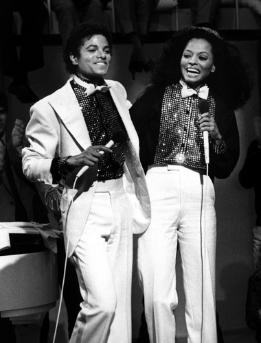 1981 Michael and Diana Ross