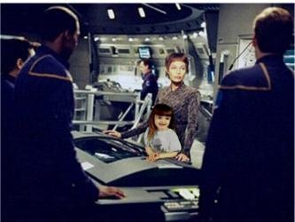 Archer,T'Pol and their daughter T'Lin