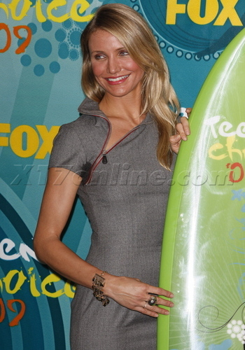 Cast at Teen Choice Awards
