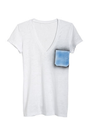 Faux Pocket Tee