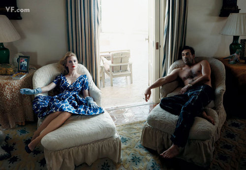 January Jones & Jon Hamm