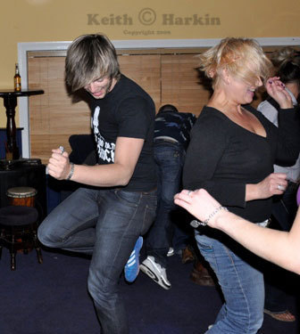 Keith Havin' A Dance Off.... With His Mammy!