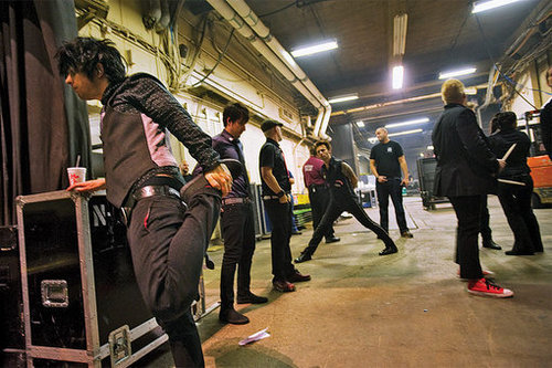 On The Road With Green 일 ~ Rolling Stone Goes Backstage for the '21st Century Breakdown' Tour 2009