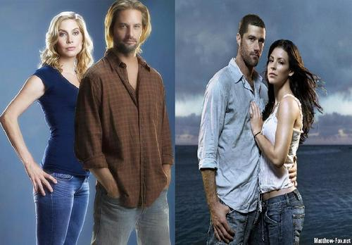 Sawyer/Juliet and Jack/Kate