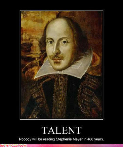 William Shakespeare HAS Talent