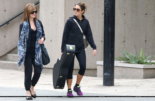 Elizabeth and Nikki out in Vancouver