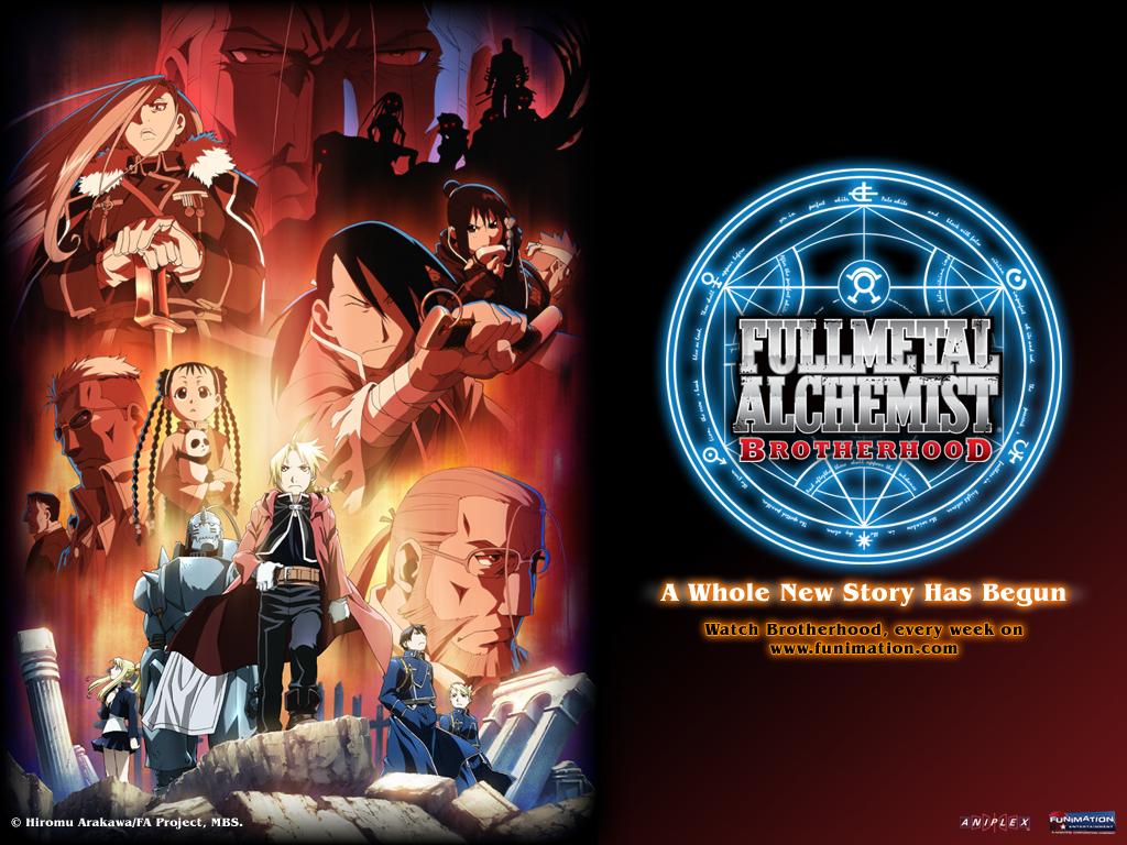 Fullmetal Alchemist: Brotherhood - Anime Wallpaper ...