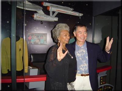 "Nichelle Nichols ""Uhura"" and George Takei ""Sulu"""
