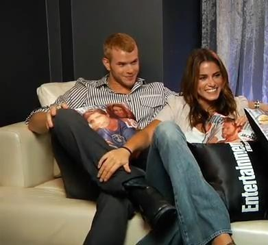 Nikki and Kellan at Comic Con
