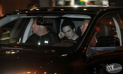 Rob Leaving Water strada, via Cafe after KoL concerto