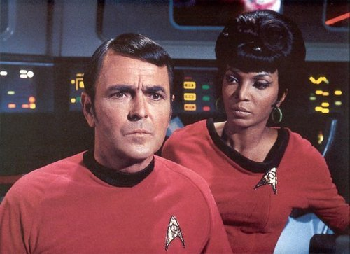 Uhura and Scotty