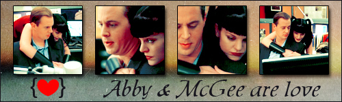 Abby and McGee are upendo