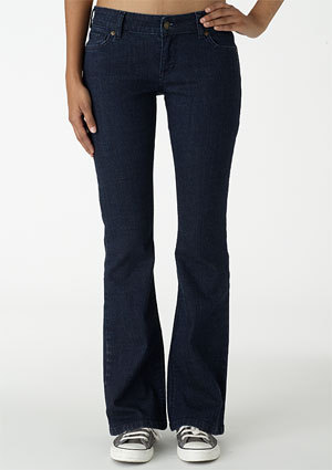 Bailey Low-Rise Flare Jean
