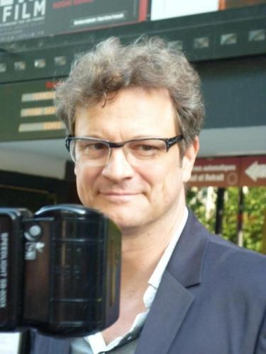 Colin Firth in Paris