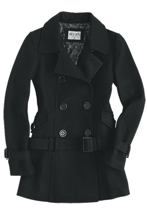 Kelsey Belted Peacoat