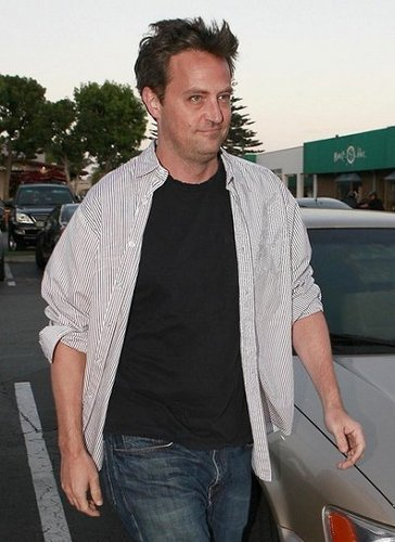 Matthew Perry at Nobu 08/24